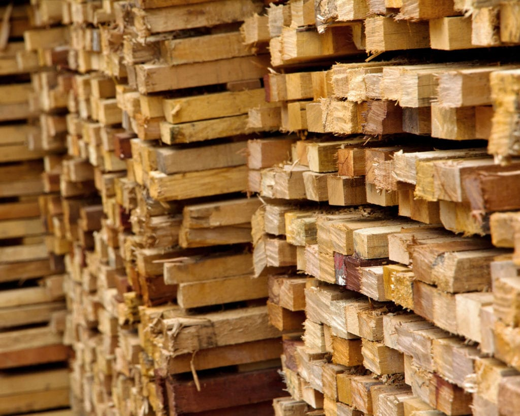 Timber Wood Stacked